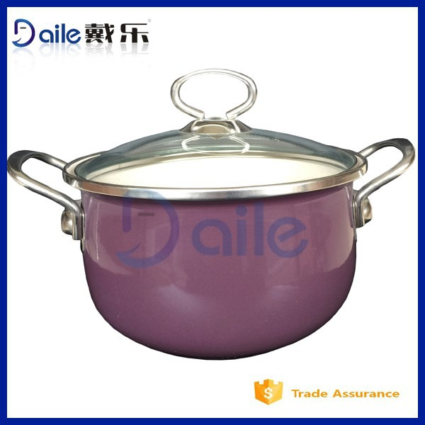 5PCS New Design Hot Sale Enamel Cookware